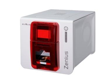 Evolis Zenius Expert USB/Eth Röd Front
