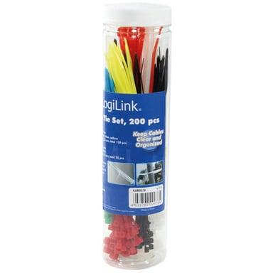 Logilink Strips 3 Ulike Lengder 200 stk