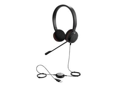 Jabra Evolve 20 MS Stereo Headset Zwart