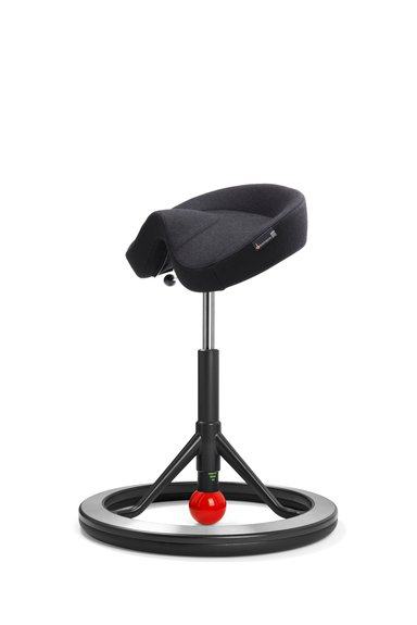 Backapp 2.0 Nordic Wool Black/Black/Red Ball