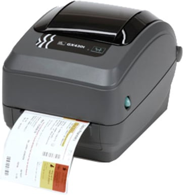 Zebra GX430T DT/TT 300dpi USB/Seriell/Ethernet Dispenser