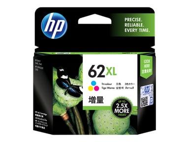 HP Blæk Farve No.62XL