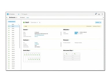HPE Oneview With Ilo Advanced Flexible License