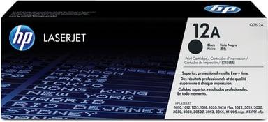 HP Toner Svart 12A 2K - Q2612A