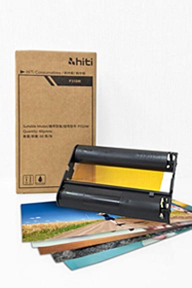 Hiti Färgband/Papper 60 Ark