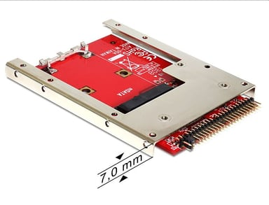 Delock Converter IDE 44 Pin > mSATA with 2.5? Frame
