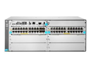 HPE Aruba 5406R 44GT PoE+ / 4SFP+ (No PSU) v3 zl2