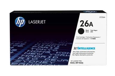 HP Värikasetti Musta 26A 3.1k - LJ M402/M426