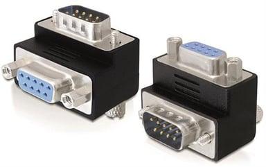 Delock Adapter 9 pin D-Sub (DB-9) Hane 9 pin D-Sub (DB-9) Hona