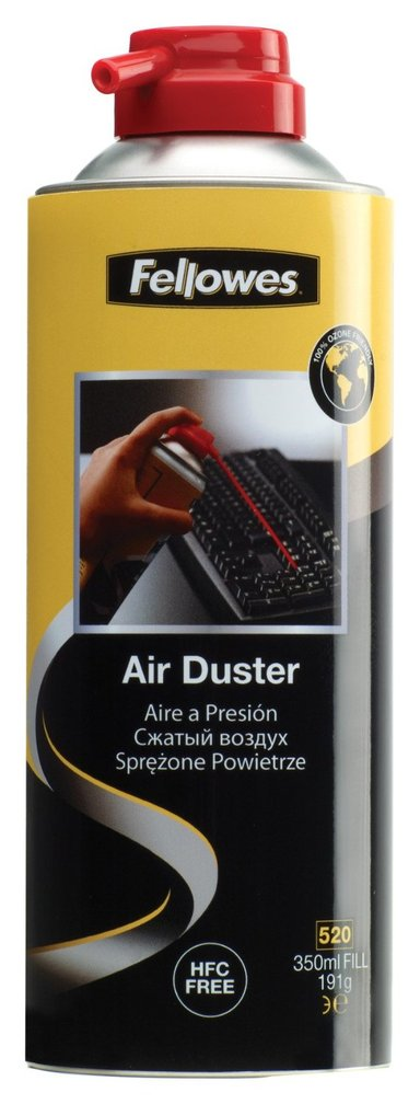 Fellowes Trykkluft Duster 350ml HFC Fri null