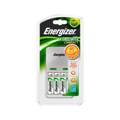 Energizer Laddare Compact 2000 Inkl 4xAA 2000mAh