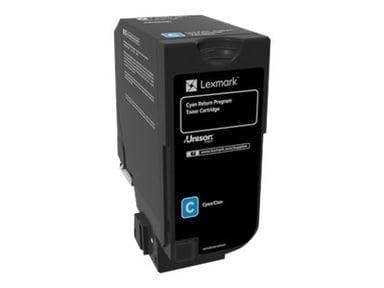 Lexmark Toner Cyan 3k - CS720/CS725 Return