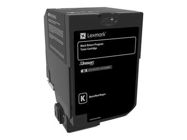 Lexmark Toner Svart 3k - CS720/CS725 Return