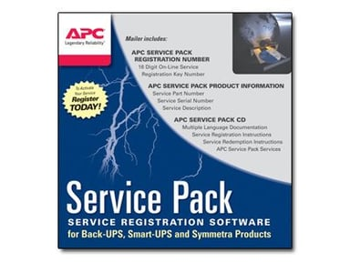 APC Extended Warranty Service Pack null