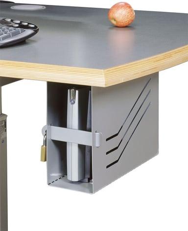 Götessons Client Box Ståend Med Lås Vit