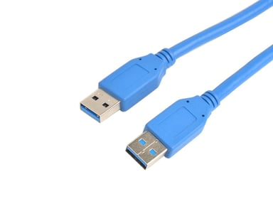 Prokord USB-kabel 2m 9-stifts USB typ A Hane 9-stifts USB typ A Hane