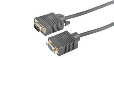 Prokord VGA-kabel 5m VGA Hane VGA Hona