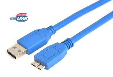 Prokord USB-kabel 0.5m 9-pins USB-type A Hann 9 pin Micro-USB Type B Hann