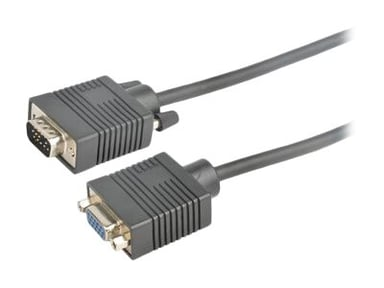 Prokord VGA-kabel 3m VGA Hane VGA Hona