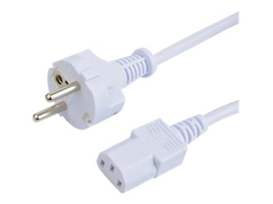 Prokord Power cable 0.5m Voeding CEE 7/7 Male Voeding IEC 60320 C13