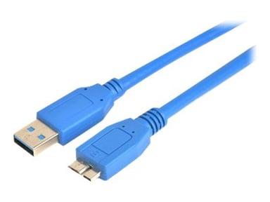 Prokord USB-kabel 3m 9-stifts USB typ A Hane 9 pin Micro-USB Type B Hane