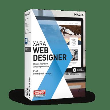 Magix Xara Web Designer Windows Engelsk Box