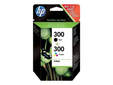 HP Blekk Multipack No.300 (BK+Color) - DJ D1663/D1668/D2680