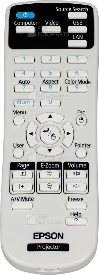 Epson Fjernkontroll - EB-X20/TW-490