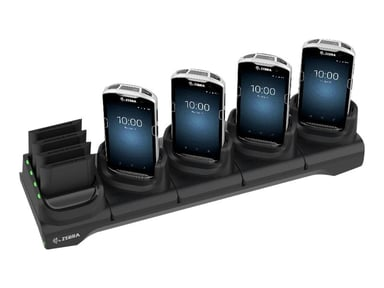 Zebra 5Slot Charge Only Cradle w/Spare Battery Charger