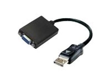 Linkit DisplayPort-adapter 20-pins DisplayPort Hann 15-stifts HD D-Sub (HD-15) Hunn