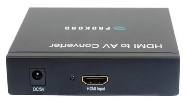 Prokord HDMI To Av Converter HDMI Hunn RCA Hunn Svart
