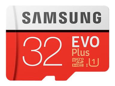 Samsung EVO Plus 32GB microSDHC UHS-I minneskort