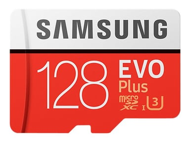 Samsung EVO Plus 128GB mikroSDXC UHS-I minneskort