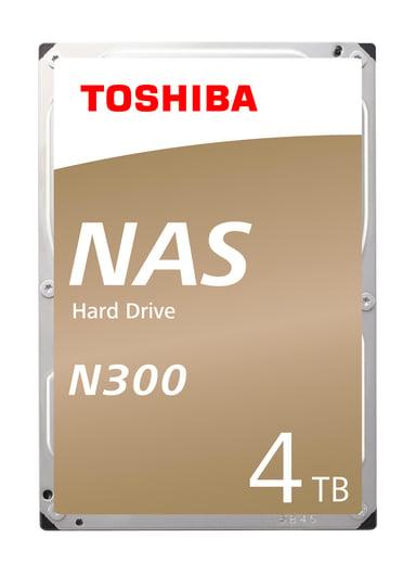 """Toshiba N300 NAS 4TB 3.5"""" Serial ATA-600"""