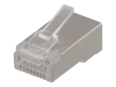 Deltaco Connector CAT6A STP RJ45 20-pack