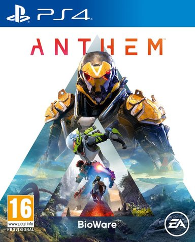 EA Games Anthem Sony PlayStation 4
