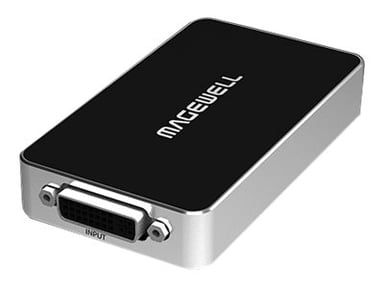 Magewell Magewell USB Capture DVI Plus Silver; Svart