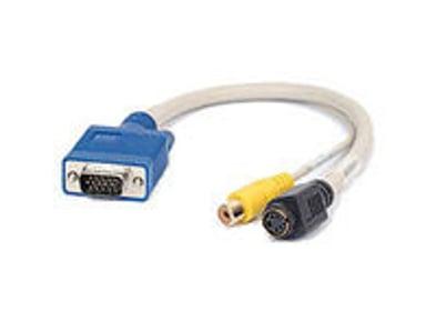 Matrox S-video / kompositt-kabel
