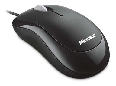 Microsoft Basic 800dpi Mus Kabelansluten Svart