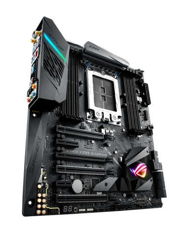 ASUS ROG Strix X399-E Laajennettu ATX Emolevy