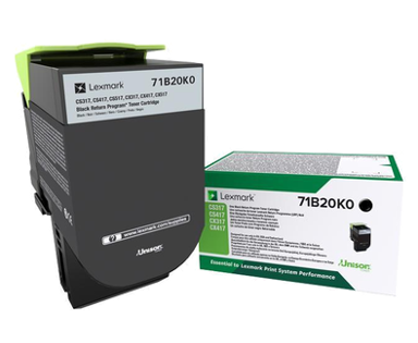 Lexmark Toner Svart 3K - CS/CX317/417/517