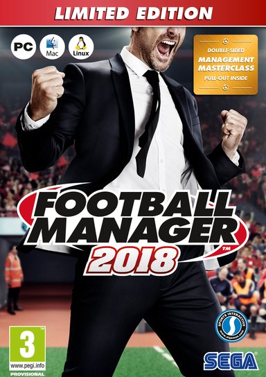 SEGA Football Manager 2018 Limited Edition