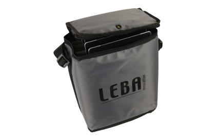 Leba Notebag Grey Carries 5 Tablets #FI