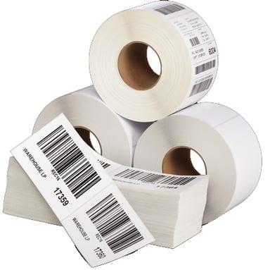 Zebra Etiketter Z-Select 2000D 100x50mm 4-Pack