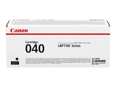 Canon Toner Svart 040BK - LBP710/712