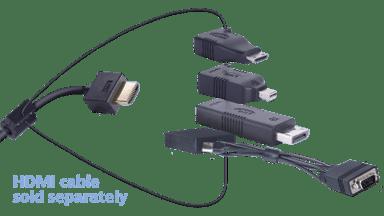 Liberty Av Solutions Liberty Av Digitalinx Adapter Ring - Dl-Ar5245 DisplayPort DisplayPort Mini HDMI Mini Hona HDMI Hane Svart