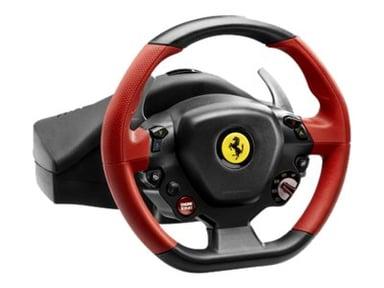 Thrustmaster Ferrari 458 Spider Musta Punainen