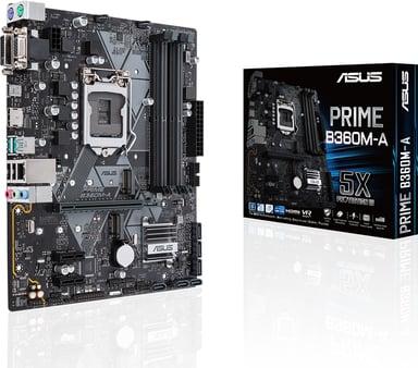 ASUS Prime B360M-A Micro ATX Moderkort