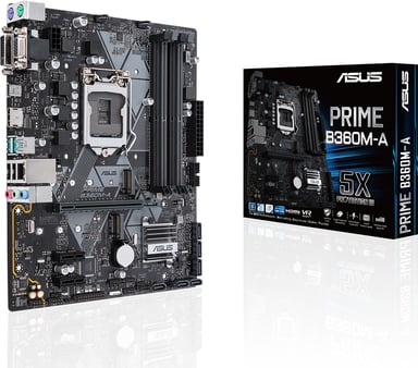 ASUS Prime B360M-A Mikro ATX Hovedkort