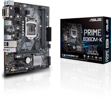 ASUS Prime B360M-K Mikro ATX Emolevy